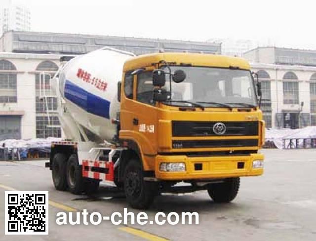 十通牌STQ5252GJB13混凝土搅拌运输车