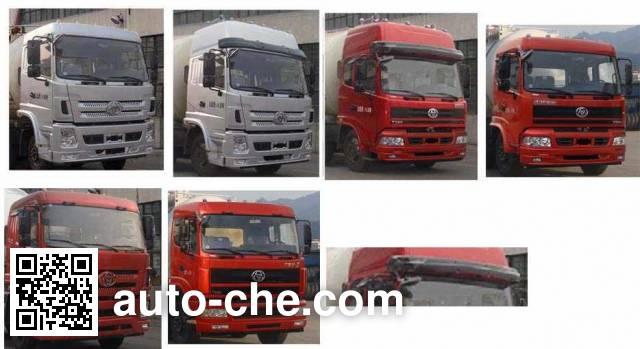 Sitom STQ5316GFL4 low-density bulk powder transport tank truck