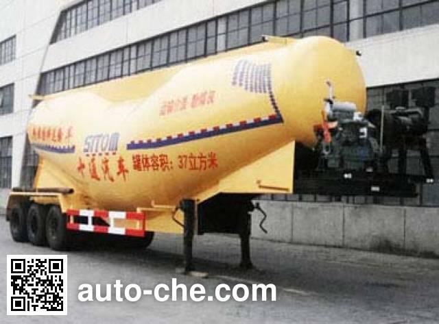 十通牌STQ9408GFL粉粒物料运输半挂车