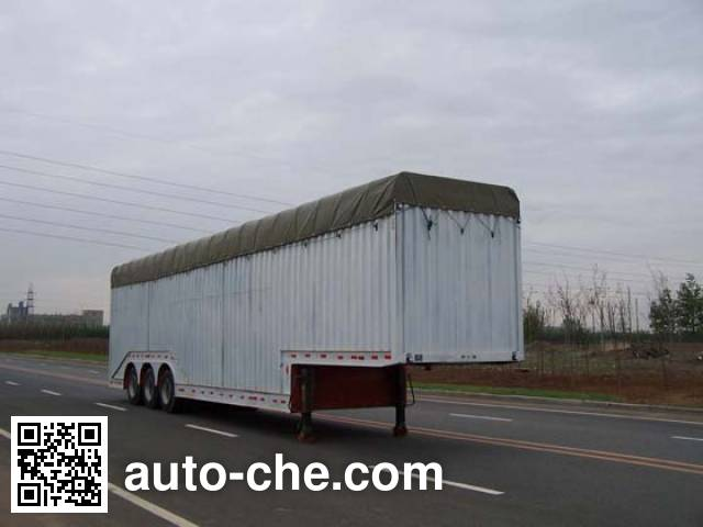 Tianye (Aquila) STY9390CPY soft top box van trailer