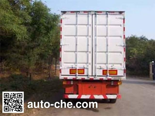 Tianye (Aquila) STY9390XXY box body van trailer