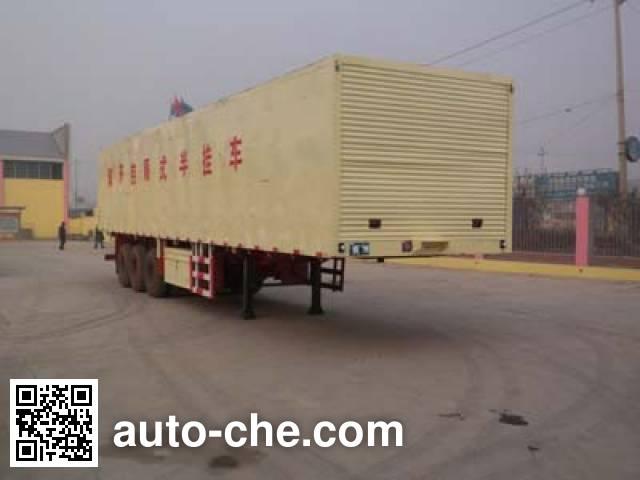 Tongya STY9400XXYK wing van trailer
