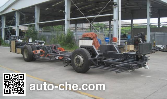 Sunwin SWB6107CHEV3 hybrid bus chassis