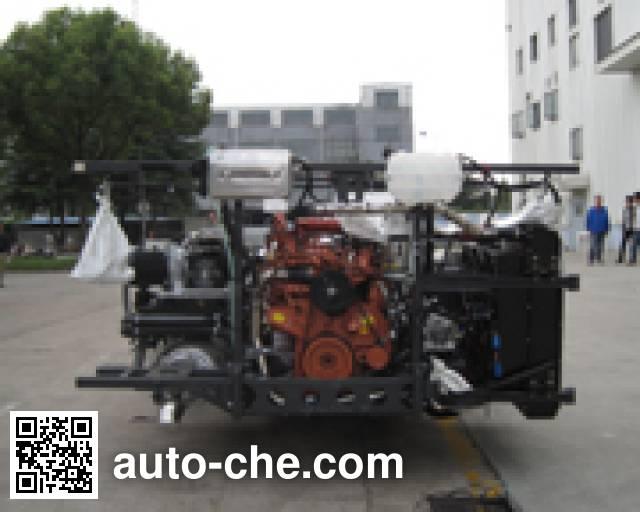 Sunwin SWB6108CHEV7 hybrid bus chassis