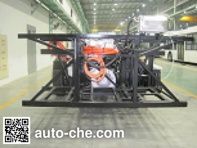 Sunwin SWB6110EV65 electric bus chassis