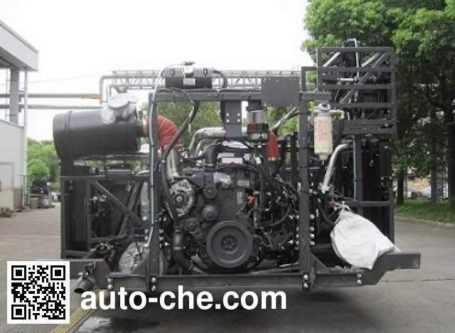 Sunwin SWB6127PHEV hybrid bus chassis