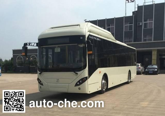 申沃牌SWB6128EV56纯电动城市客车