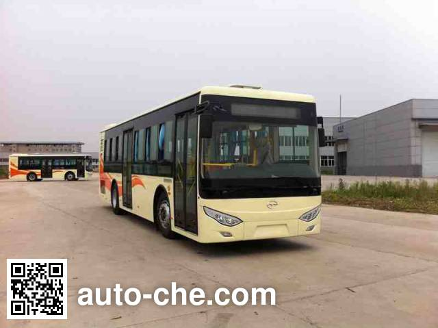 五洲龙牌SWM6100NG城市客车
