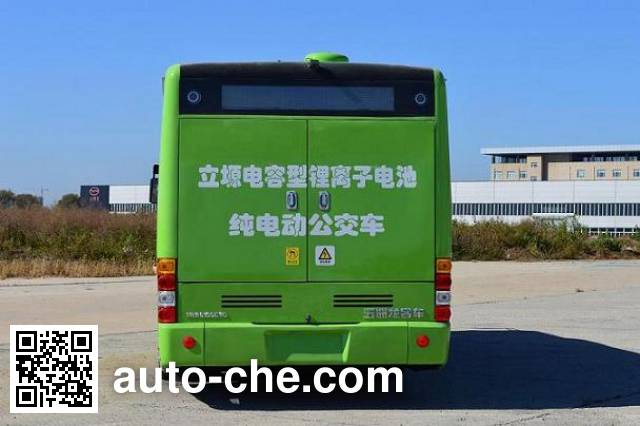 五洲龙牌SWM6105EVG纯电动城市客车
