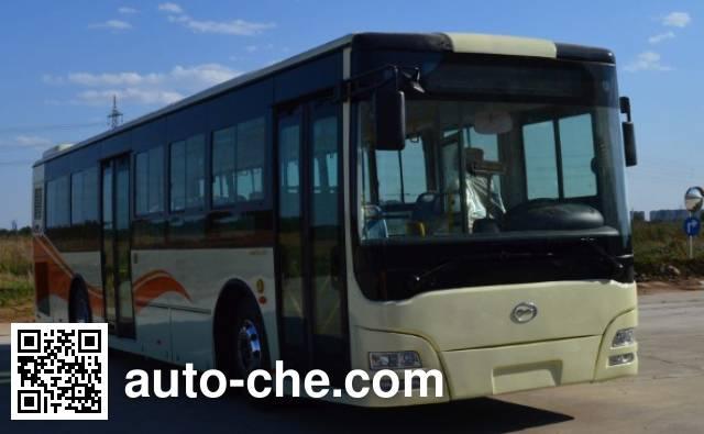 五洲龙牌SWM6113HEVG2混合动力城市客车