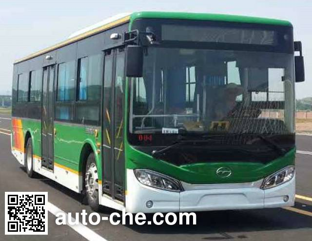 Wuzhoulong SWM6115EVG electric city bus