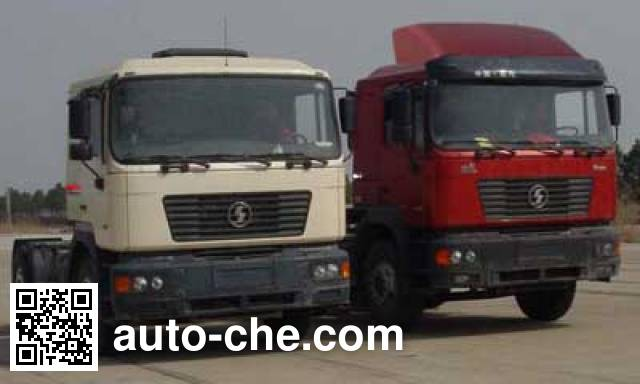 Shacman SX4185NR351 container transport tractor unit