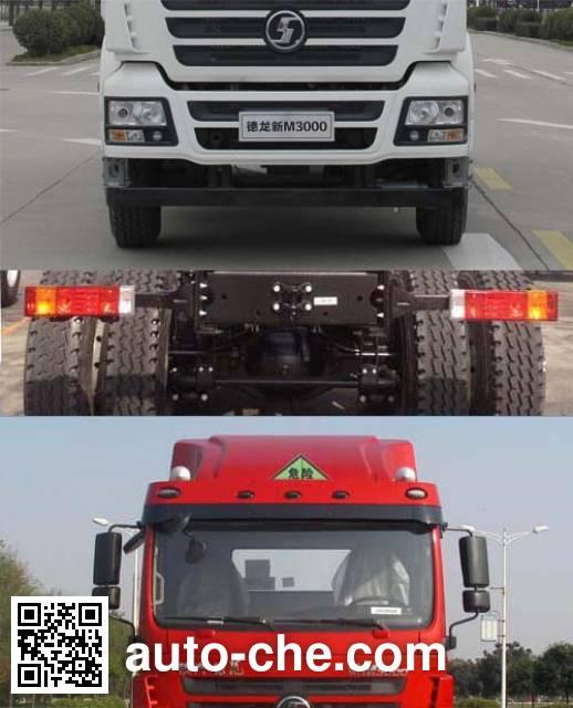 Shacman SX4256GT279W1 dangerous goods transport tractor unit
