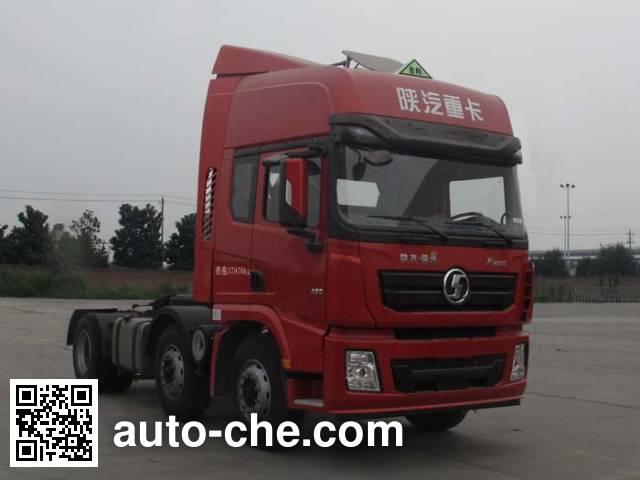Shacman SX42564T279W1 dangerous goods transport tractor unit