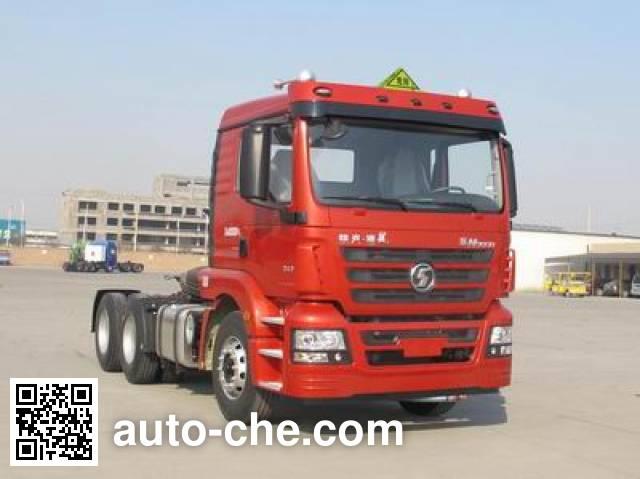 Shacman SX4256GV324W dangerous goods transport tractor unit