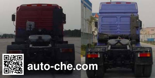 Shacman SX4255NN294 container transport tractor unit