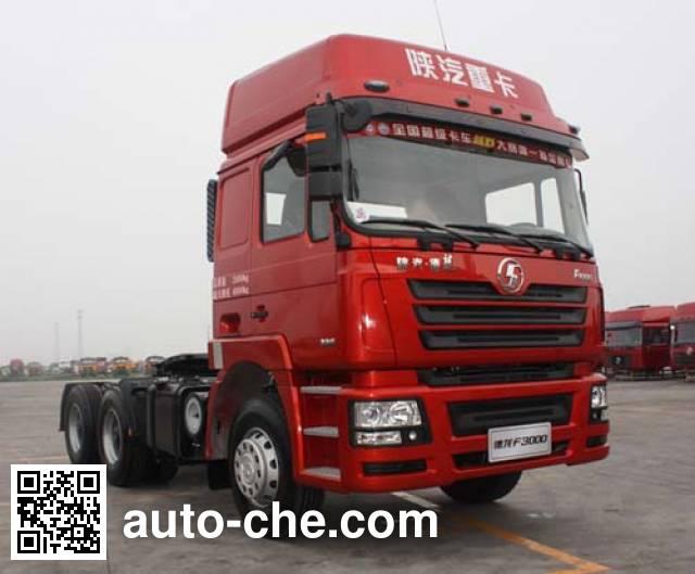 Shacman SX4257NR324HM methanol/diesel dual fuel tractor unit