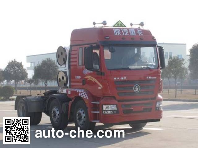 Shacman SX4258GT279TLW1 dangerous goods transport tractor unit