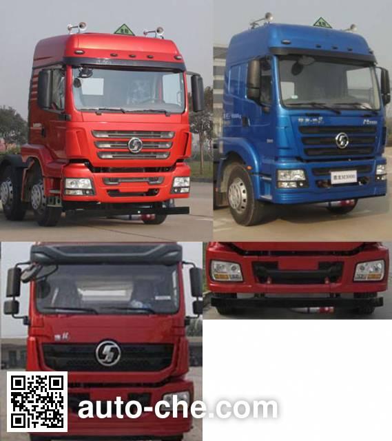 Shacman SX4258GT279TLW dangerous goods transport tractor unit