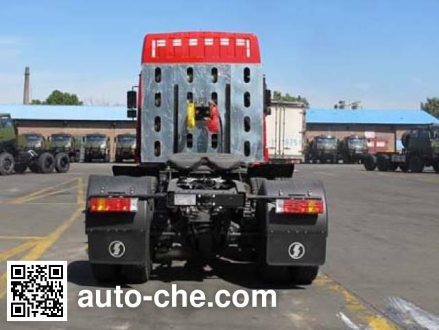 Shacman SX4258NV384TW1 dangerous goods transport tractor unit