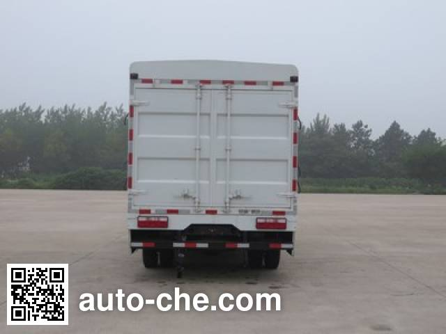 Shacman SX5040CCYBEV7 electric stake truck