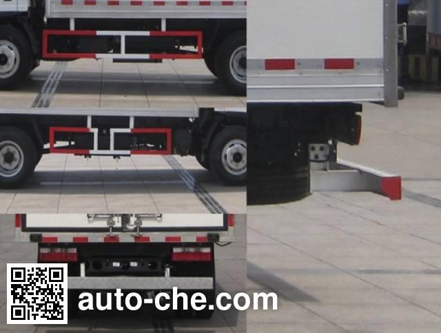 Shacman SX5040XLCGP4 refrigerated truck