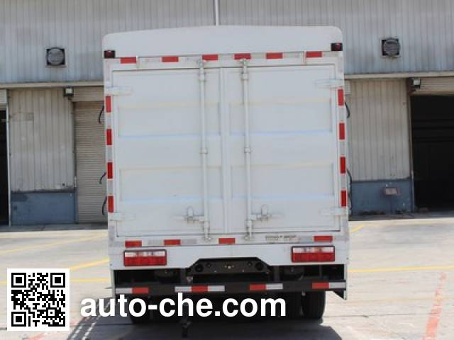 Shacman SX5070CCYBEV4 electric stake truck