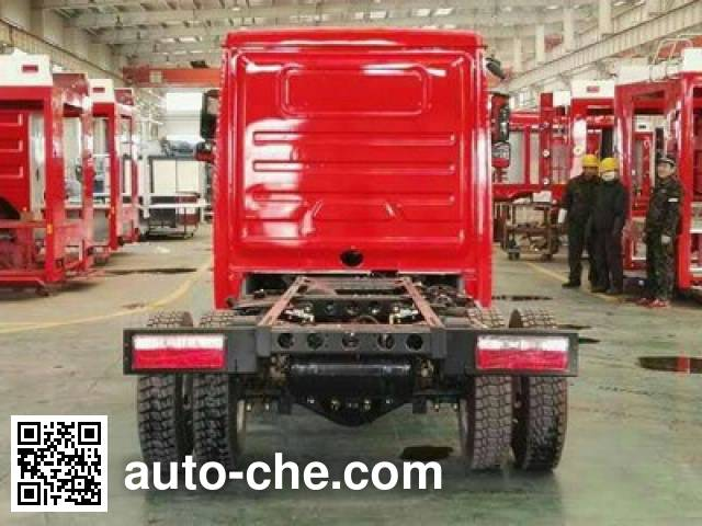 Shacman SX5070GXFGD5 fire truck chassis