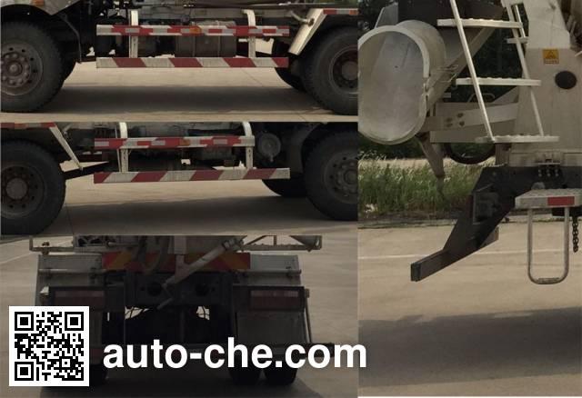 陕汽牌SX5140GJBGP5混凝土搅拌运输车