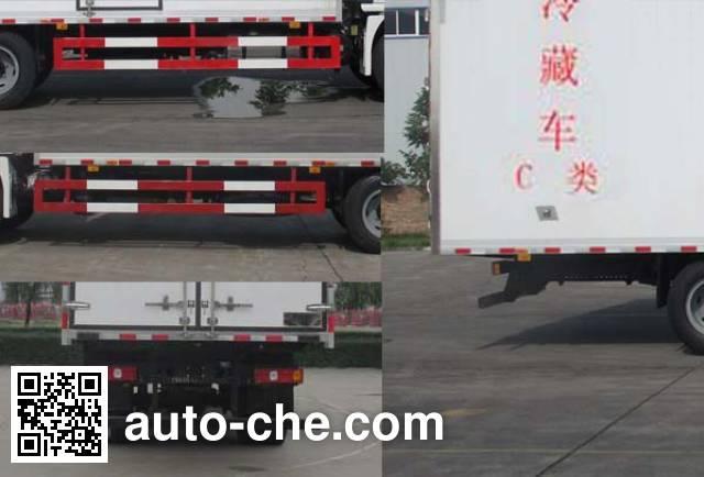 陕汽牌SX5160XLCLA1D冷藏车