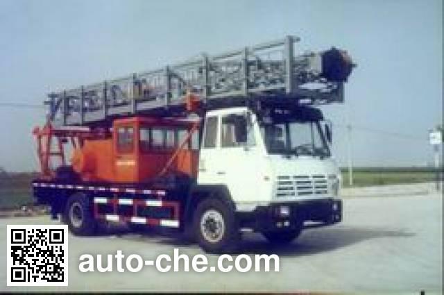 Sida Steyr SX5161TXJ well-workover rig truck