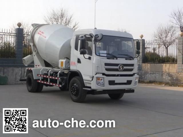 陕汽牌SX5162GJBGP4混凝土搅拌运输车