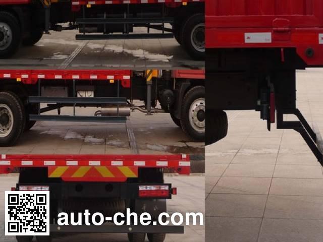 Shacman SX5163JSQGP3 truck mounted loader crane