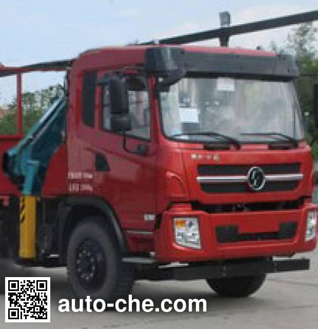 Shacman SX5166JSQGP4 truck mounted loader crane