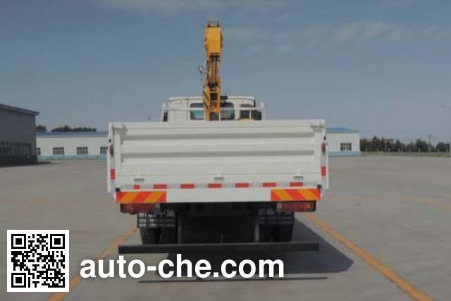 Shacman SX5166JSQMH481 truck mounted loader crane