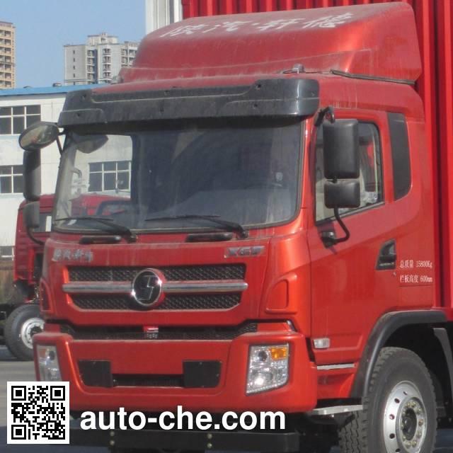 陕汽牌SX5168CCYGP5仓栅式运输车