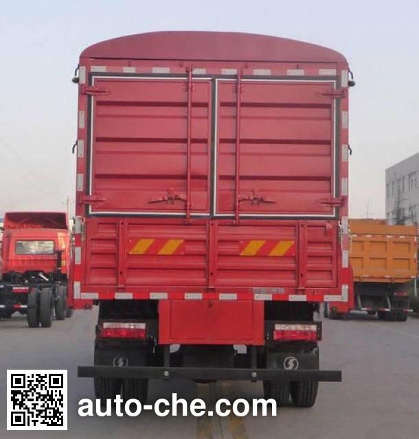 陕汽牌SX5169CCYGP4仓栅式运输车