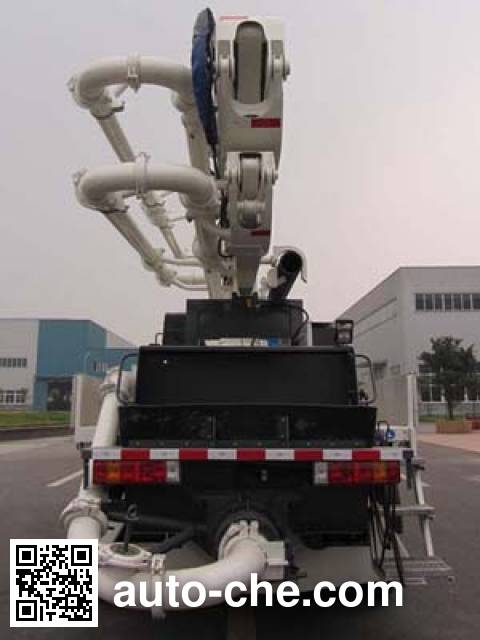 Shacman SX5180THB concrete pump truck