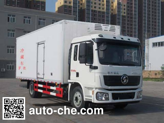 Shacman SX5180XLCLA6212 refrigerated truck