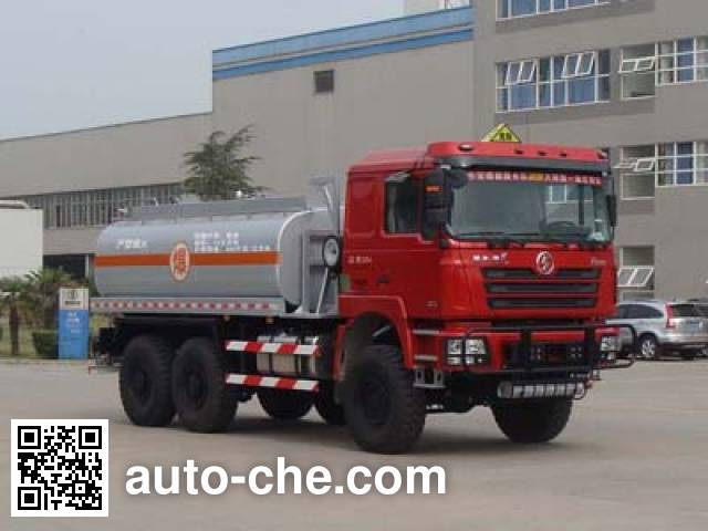 Shacman SX5240TSMGYY desert off-road oil tank truck
