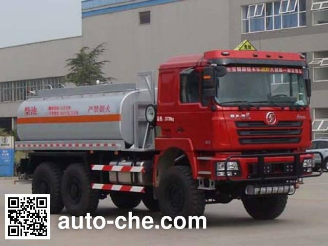 Shacman SX5246TSMGYY desert off-road oil tank truck