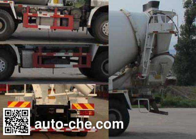 Shacman SX5250GJBFB384 concrete mixer truck
