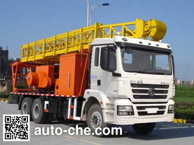 Shacman SX5250TXJ2 well-workover rig truck