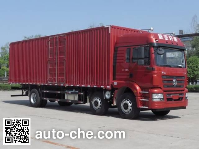陕汽牌SX5250XXYMP5厢式运输车