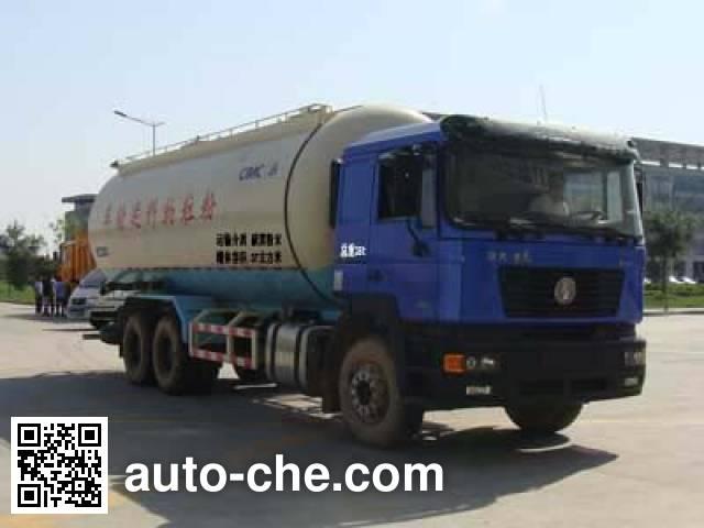 陕汽牌SX5255GFLNN524粉粒物料运输车