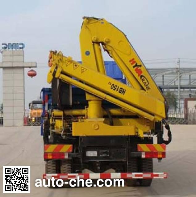 Shacman SX5255JSQNR564 truck mounted loader crane