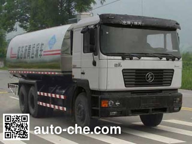 Shacman SX5255YLQ liquid asphalt transport tank truck