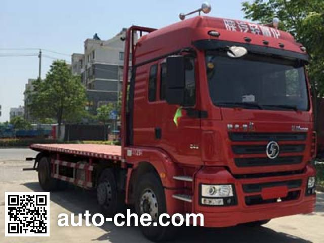 Shacman SX5256TPBGK549 flatbed truck