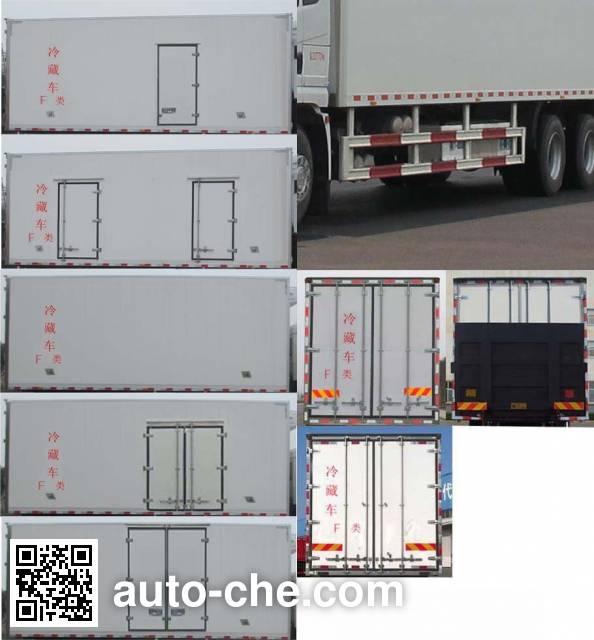 Shacman SX5260XLC4A583 refrigerated truck
