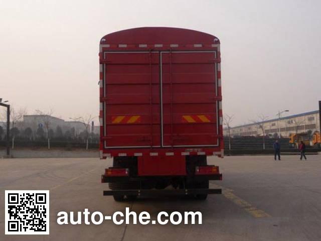 陕汽牌SX5310CCYMP4仓栅式运输车